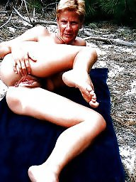 Outdoor, French, Mature outdoor, French mature, Outdoors, Public mature