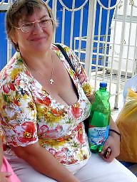 Granny bbw, Cleavage, Bbw granny, Mature bbw, Face, Mature boobs