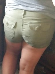 Thick, Shorts, Thick ass, Thickness, Candid, Thick asses