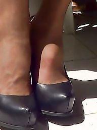 Stockings, Upskirt stockings, Pantyhose upskirt