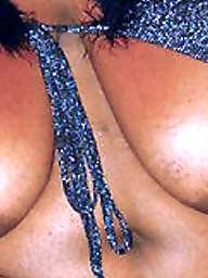 Bbw ebony, Areola, Big nipple, Big black