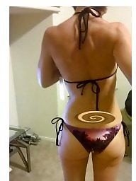 Bikini, Flash, Flashing, Amateur, Garage, Bikinis