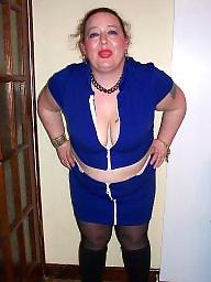 Dressed, Dress, Bbw amateur, Bbw dressed