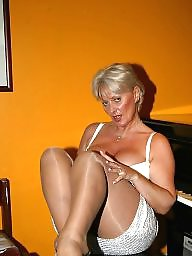 Mature stockings, Mature mix, Matures