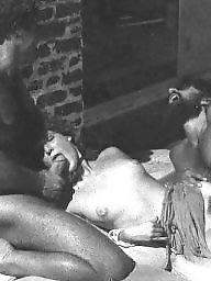 Magazine, Sex, Group, Vintage hairy, Group sex