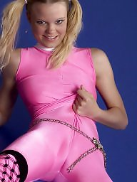 Clothed, Tights, Tight, Cloth, Pink