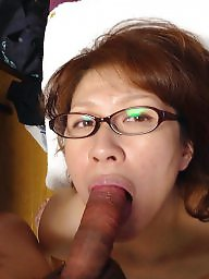 Japanese mature, Facial, Asian mature, Mature facial, Japanese, Mature asian