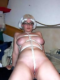 Glasses, Bdsm, Shower, Roped, Cute, Rope