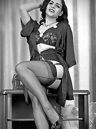 Milf stockings, Babe