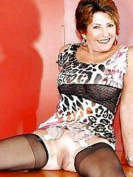 Big mature, Mature stockings