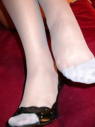 Stockings, Grey, Nylon stockings