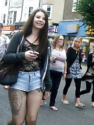 Tattoo, British teen, Tights, British teens