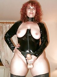 Bbw latex, Strapon, Latex, Pvc, Leather, Femdom