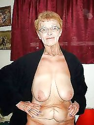 Granny, Saggy, Saggy tits, Granny tits, Old granny, Granny big boobs