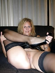 Mature, Sexy mature, Stocking, Stockings mature, Stocking milf