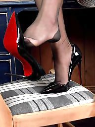 Upskirt, Upskirt stockings, Nylon upskirt