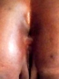 Double, Ebony amateur, Creampies
