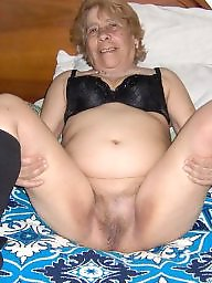 Natural, Hairy matures, Hairy mature