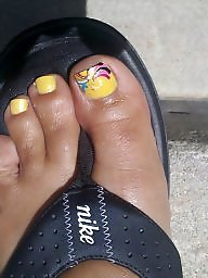 Toes, Teen amateur, Pretty