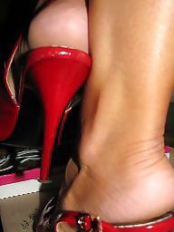 High heels, Heels, High, Amateur feet