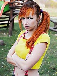 Cosplay, Redhead teens
