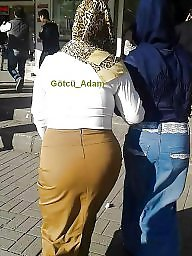 Candid, Hijab ass