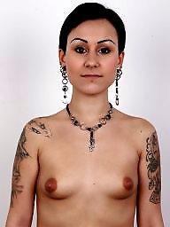 Piercing, Nipples, Pierced, Big nipples, Big nipple, Compilation