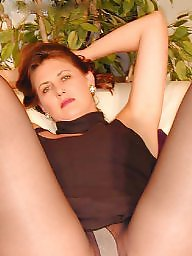Pantyhose, Mature pantyhose, Stockings, Mature upskirt, Pantyhose upskirt, Older