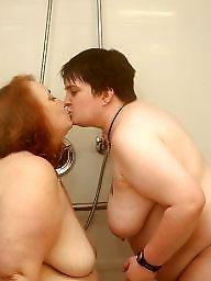 Shower, Shy, Showers, Bbw lesbian, Lesbian bbw, Lesbian amateur