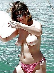 Beach, Dress, Topless, Bbw bikini, Sexy, Sexy dress