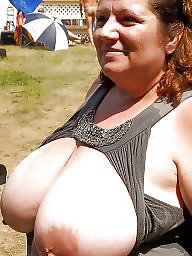 Outdoor, Huge, Big mature, Huge boobs, Mature outdoor, Mature big boobs