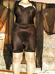 Nylon, Nylon mature, Mature nylon, Stockings