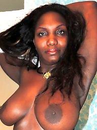 Amateur, Ebony milf, Black milf