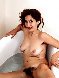 Bath, Mature hairy, Hairy milf, Bathing, Hairy matures, Milf hairy