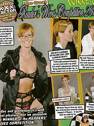Wives, Redhead mature, Striptease, Mature wives