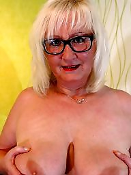 Glasses, Mature glasses, Glass, Glasses mature, Mature boob, Amateur matures