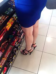 Turkish, Foot, Candid, Feet, Mature legs, Mature feet