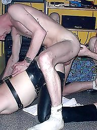 Party, Old young, Old, Groups, Young amateur, Group sex
