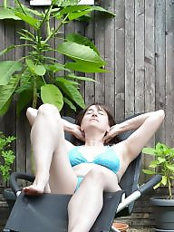Bikini, Mature bikini, Outdoor, Mature outdoor, Outdoors, Outdoor mature