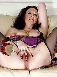 Granny stockings, Horny, Horny milf, Horny mature, Granny stocking, Mature in stockings