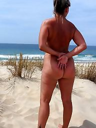 Mature beach, Naked, Mature naked
