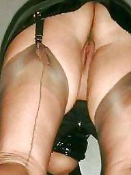 Nylons, Nylon pussy, Stockings pussy