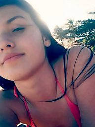 Brazilian, Beach, Teen beach, Teen amateur, Beach teen