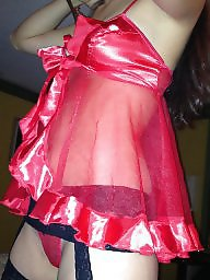 Lingerie, Amateur lingerie, Red, Amateurs