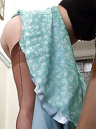 Vintage stockings, Upskirt stockings, Rock