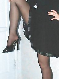Upskirt stockings, Rock