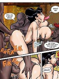 Interracial cartoons, Interracial cartoon, Cartoon interracial