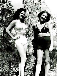 Vintage, Vintage lingerie, Lady, Lingerie, Amateur lingerie, Stocking amateur