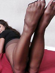 Feet, Nylon, Nylon feet, Sexy, Nylons feet