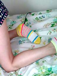 Socks, Wife, Cute teen, Wife tits, Teen cute, Sock